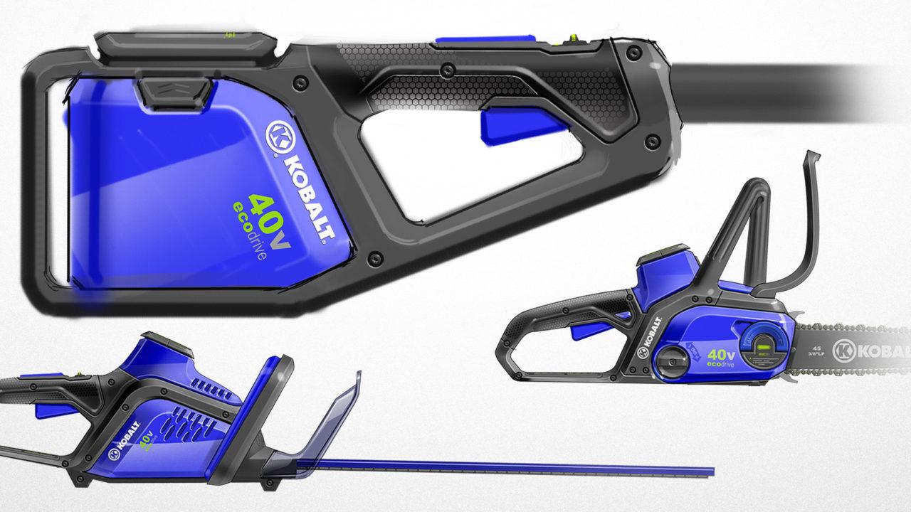 Lowe's Kobalt Outdoor Power Equipment Design | Priority Designs