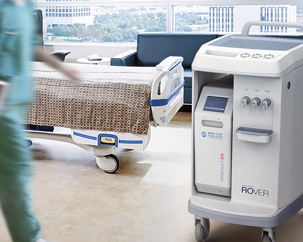 Mar Cor Rover Dialysis Water Transport System