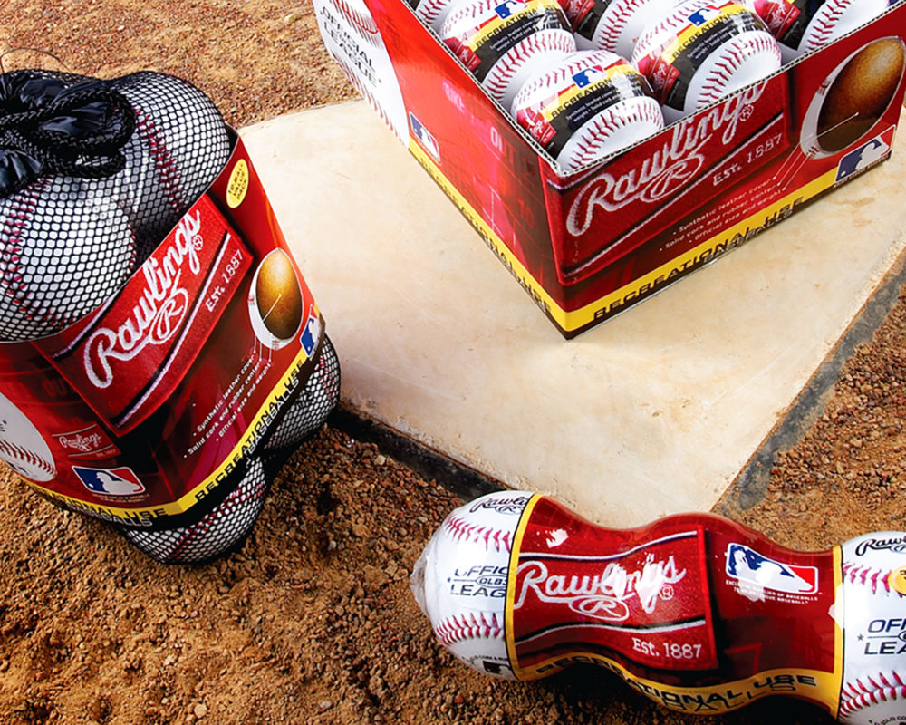 Rawlings Baseball Packaging