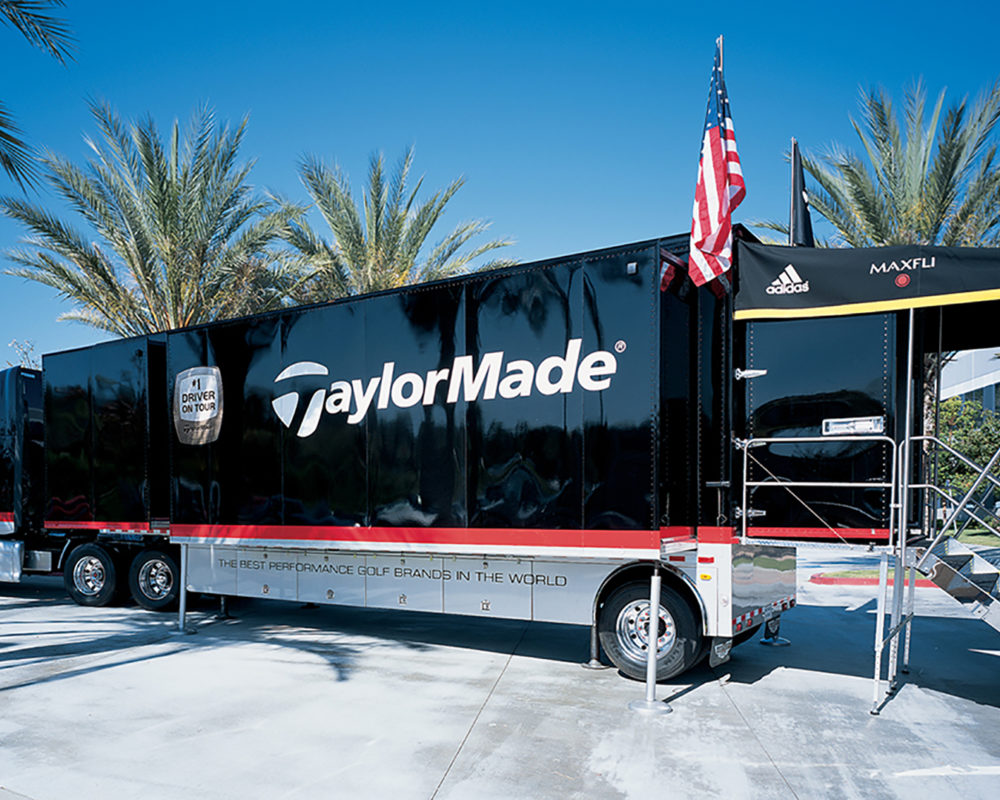 TaylorMade Golf Displays