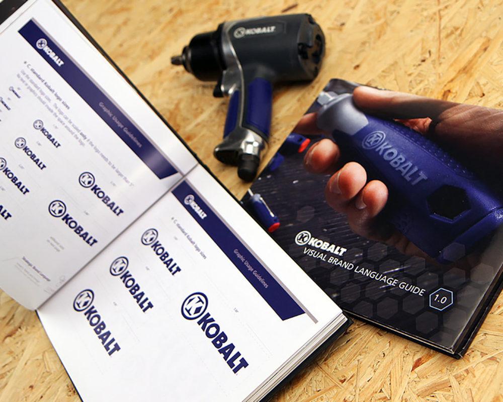 Kobalt Tools Visual Brand Language