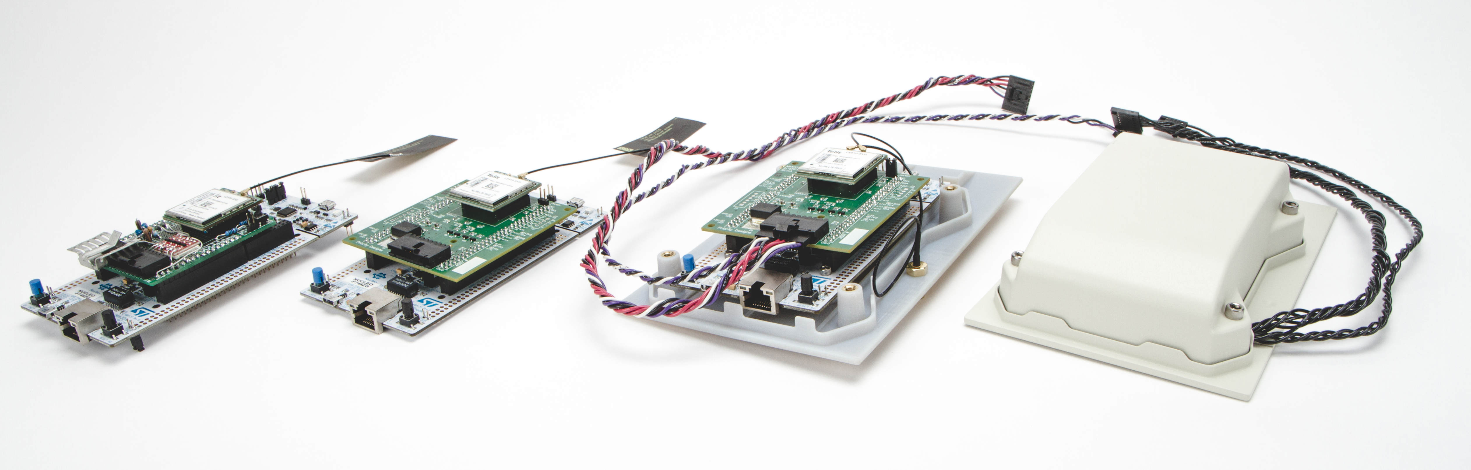 evolution of internet of things prototype using cellular and stm32 microcontroller